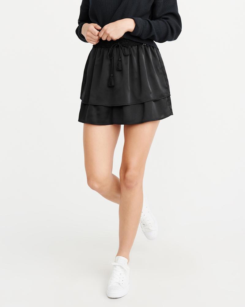 322c6cea7 Mujer Falda pantalón de volantes | Mujer Ofertas | Abercrombie.com