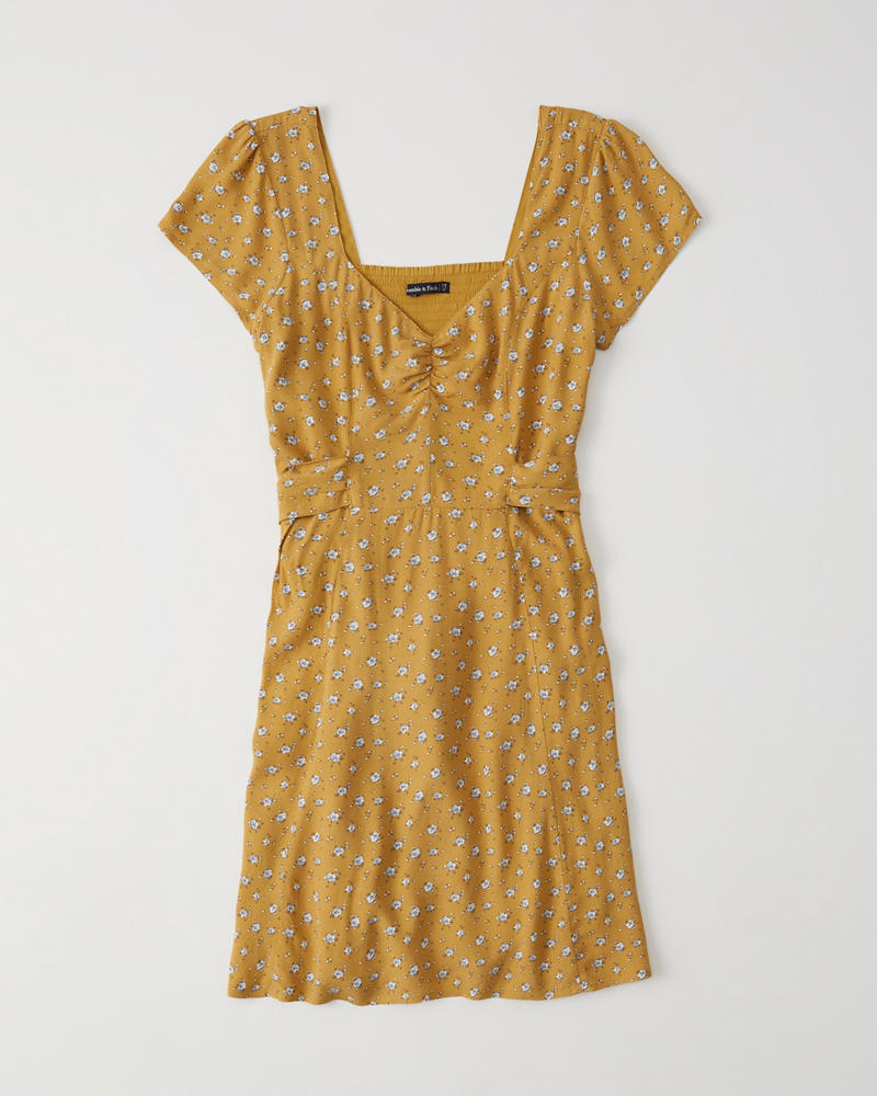 Bow Back Skater Dress by Abercrombie & Fitch