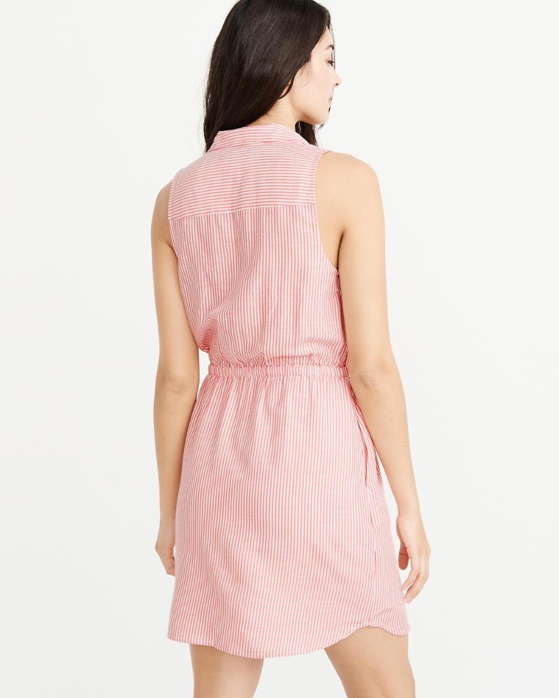 Womens - Vestido camisero sin mangas | Womens - Sale | Abercrombie.com