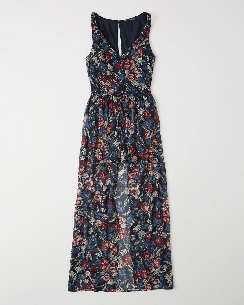 Maxi Romper by Abercrombie & Fitch
