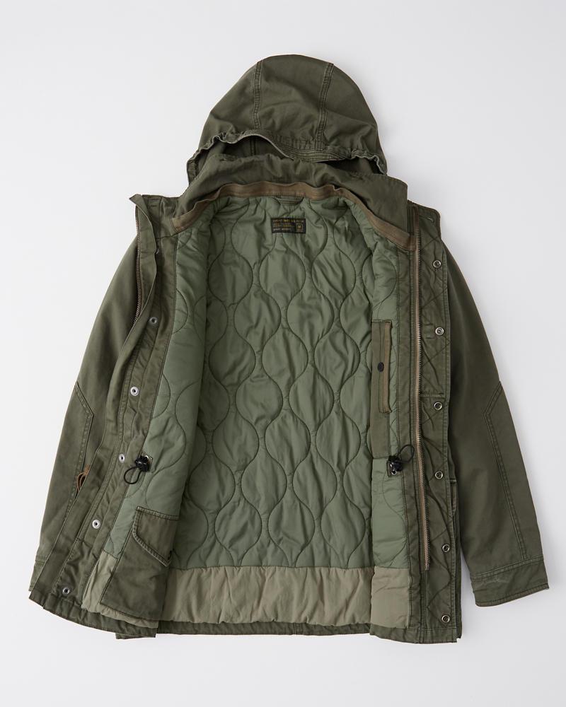 c8ed5406ba Mens Removable Sherpa Combat Jacket | Mens Clearance | Abercrombie.com