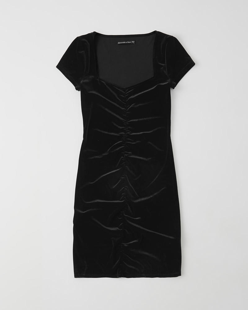 Velvet Bodycon Dress by Abercrombie & Fitch
