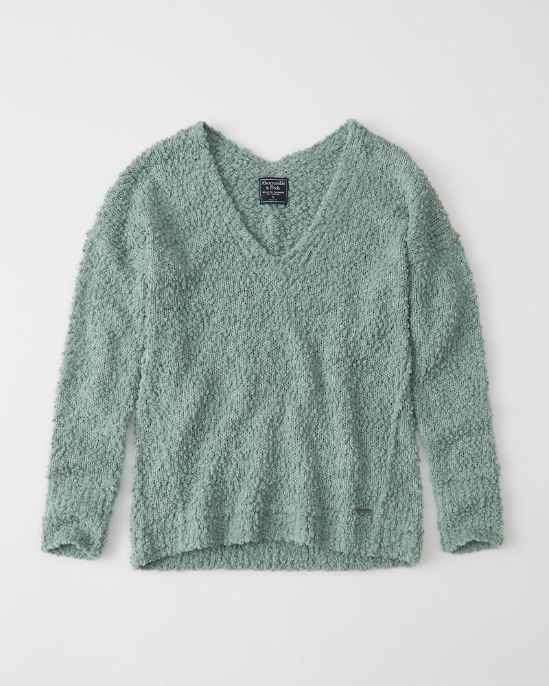 Womens Boucle Sweater | Womens Tops | Abercrombie.com