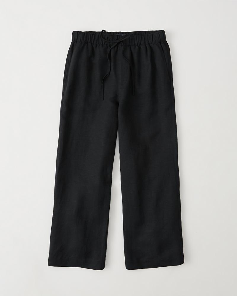 Cropped Wide Leg Pants | Tuggl