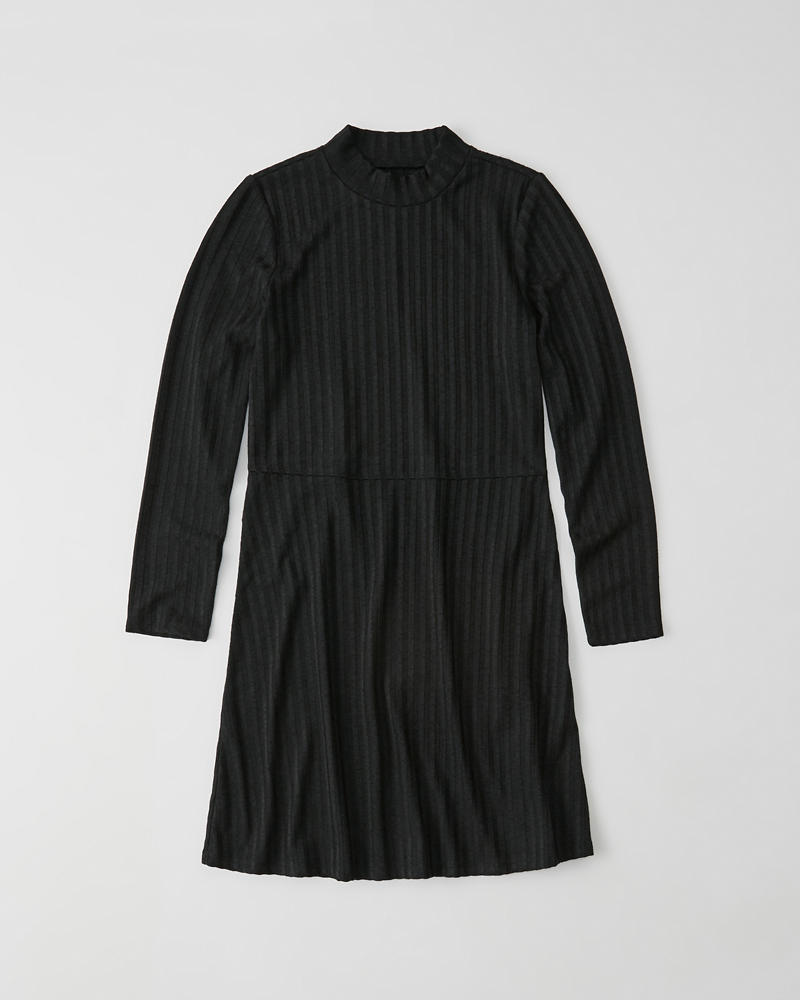 Long Sleeve Turtleneck Dress by Abercrombie & Fitch