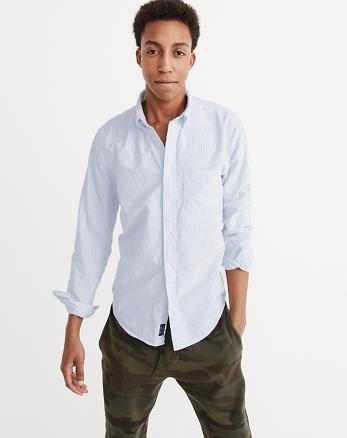cfdbc9601 ... Oxford Shirt, Light Blue Stripe, Alternate