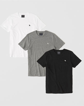 6d68764021f Mens T-Shirts. 3-Pack Icon Crew Tee