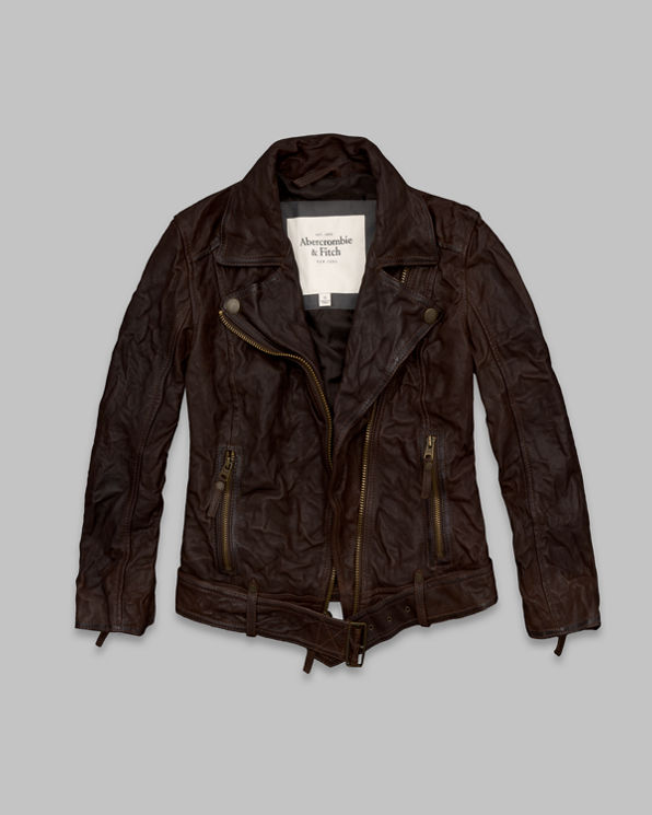 ANF Julia Leather Jacket