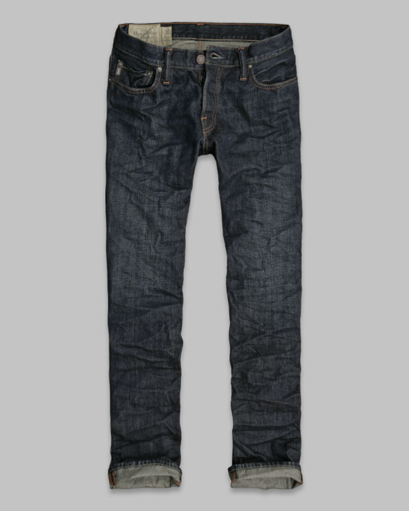 A&F Slim Straight Button Fly Jeans A&F Slim Straight Button Fly Jeans