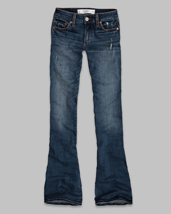 ANF A&F Flare Jeans