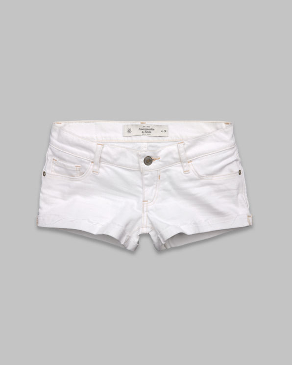 Womens A&F Low Rise Short Shorts