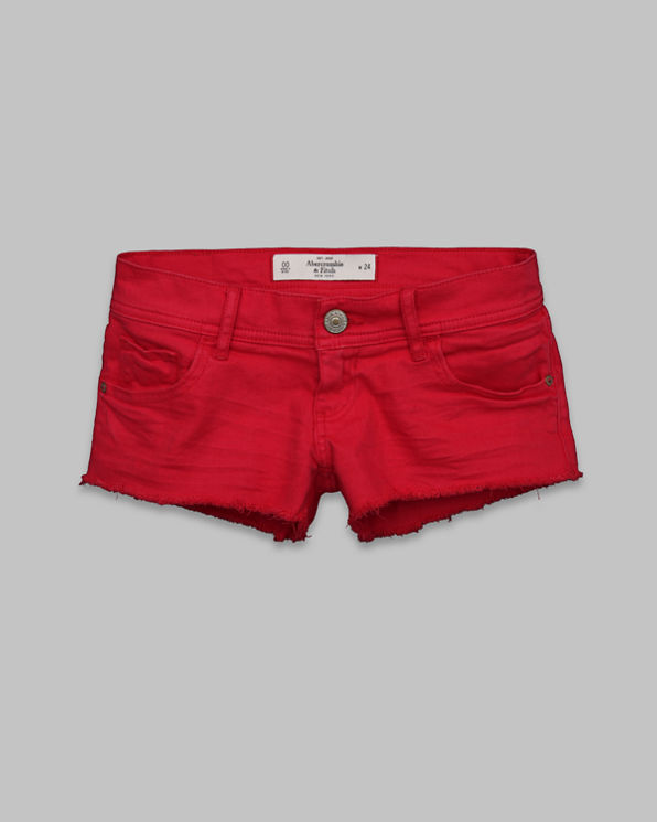 ANF A&F Low Rise Short Shorts