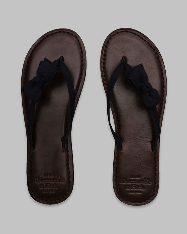 Preppy Leather Flip Flops Preppy Leather Flip Flops