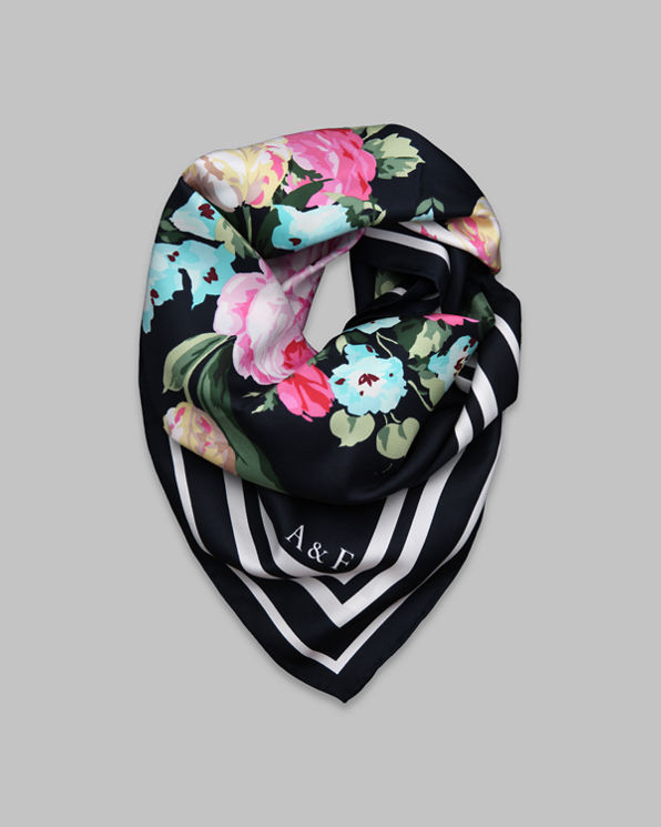Womens Silk Scarf
