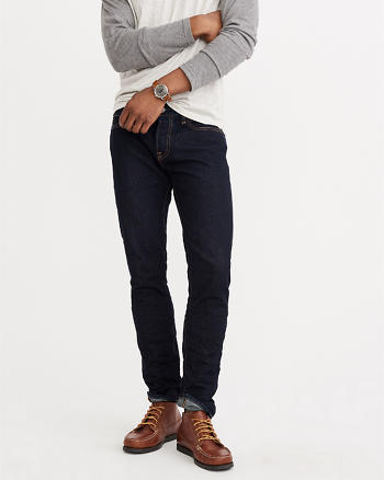 ANF Skinny Button Fly Jeans