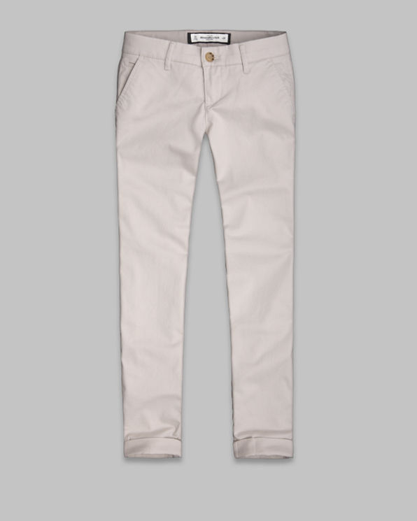 Womens A&F Chinos
