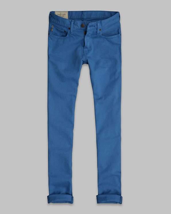 ANF A&F Skinny Button Fly Jeans