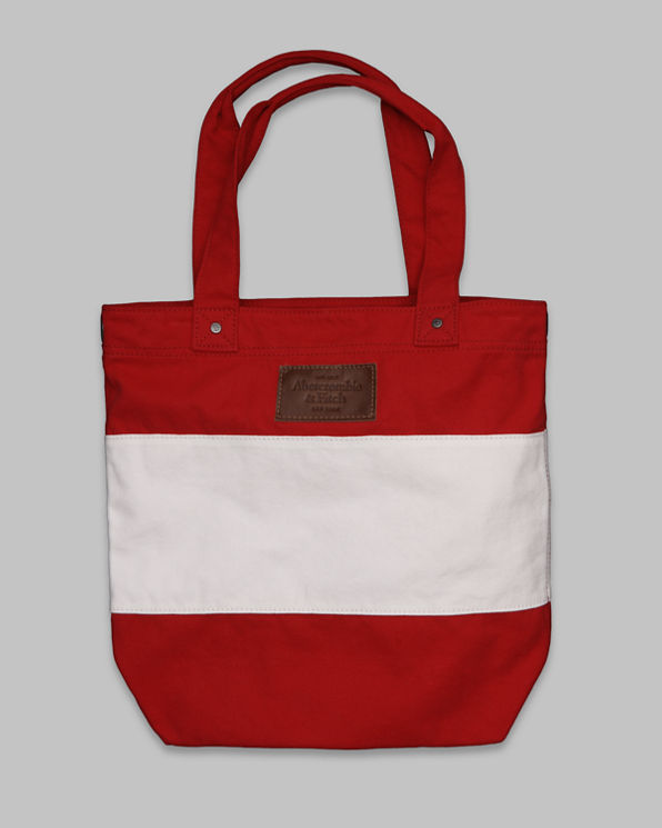 ANF Striped Summer Tote