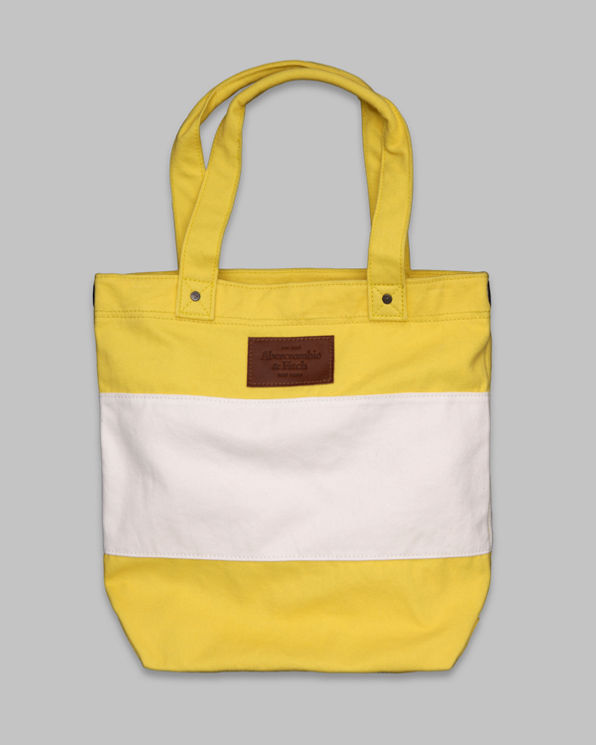 Womens Striped Summer Tote