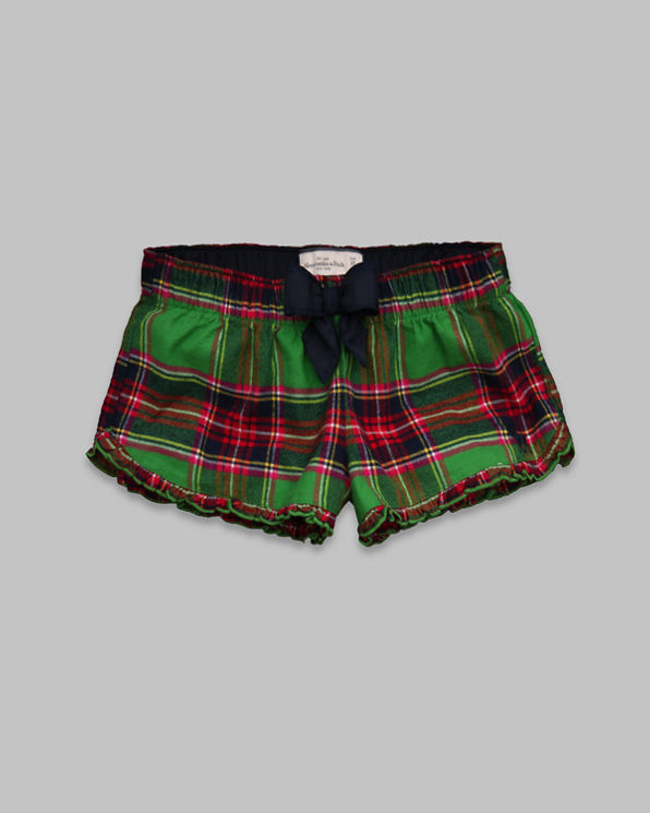 Womens Caroline Flannel Sleep Shorts