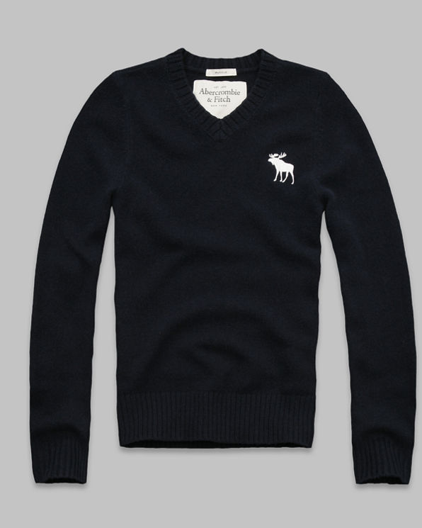 ANF Cold River Wool Sweater