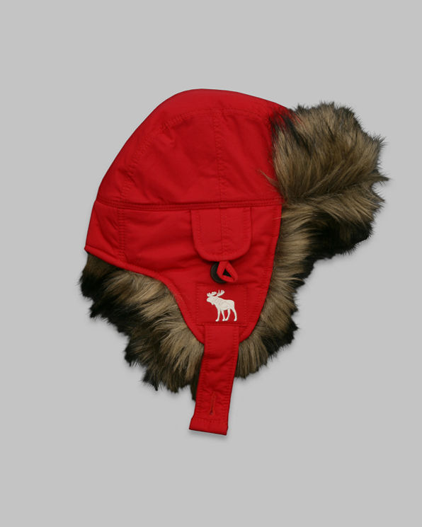 Mens Colorful Trapper Hat