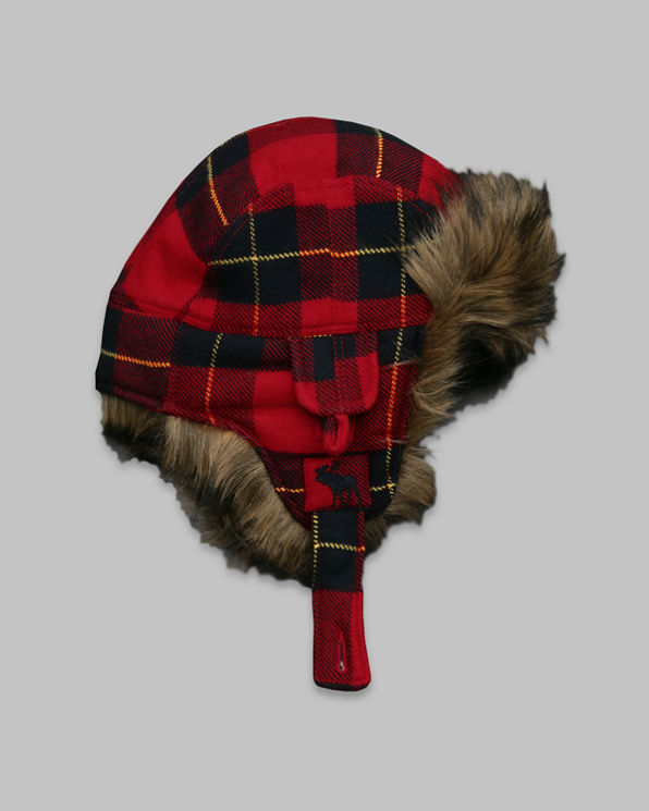 Plaid Trapper Hat Plaid Trapper Hat