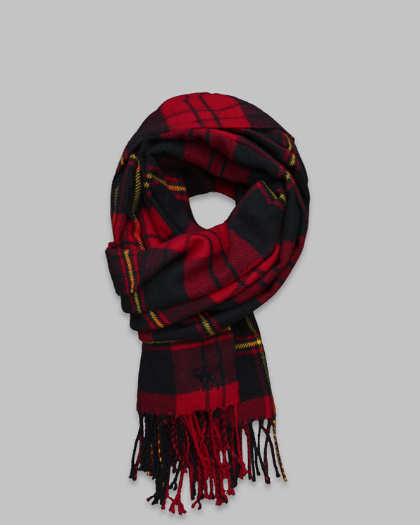 Womens Woven Scarf