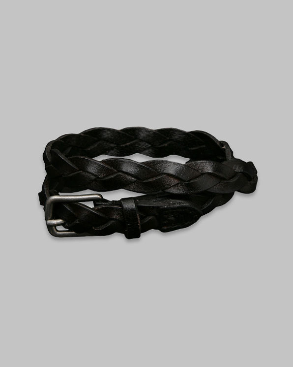 ANF Braided Leather Bracelet