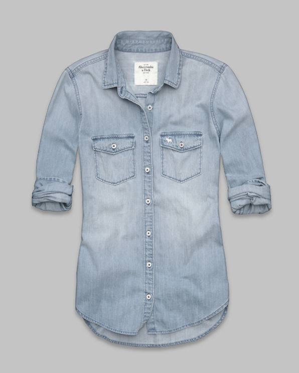 Womens Iris Denim Shirt