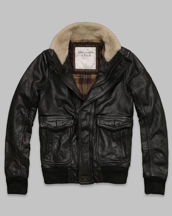 Mens Kilburn Mountain Leather Jacket