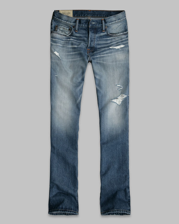 A&F Slim Boot Button Fly Jeans A&F Slim Boot Button Fly Jeans
