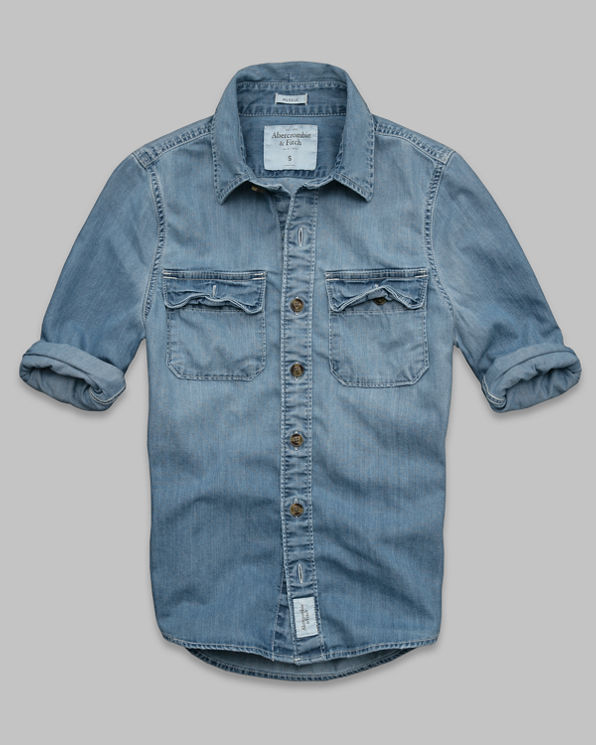 Douglass Mountain Denim Shirt Douglass Mountain Denim Shirt
