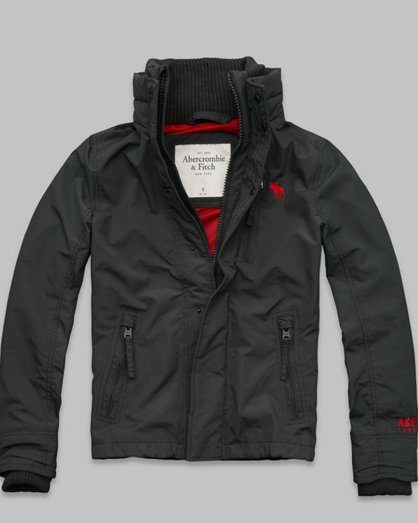 ANF A&F All-Season Weather Warrior Jacket