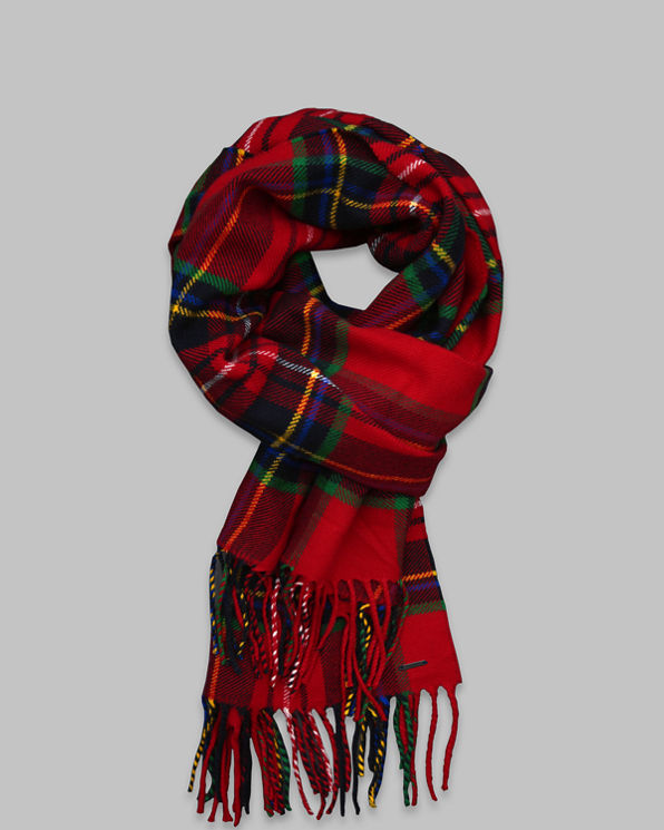 ANF Classic Plaid Scarf