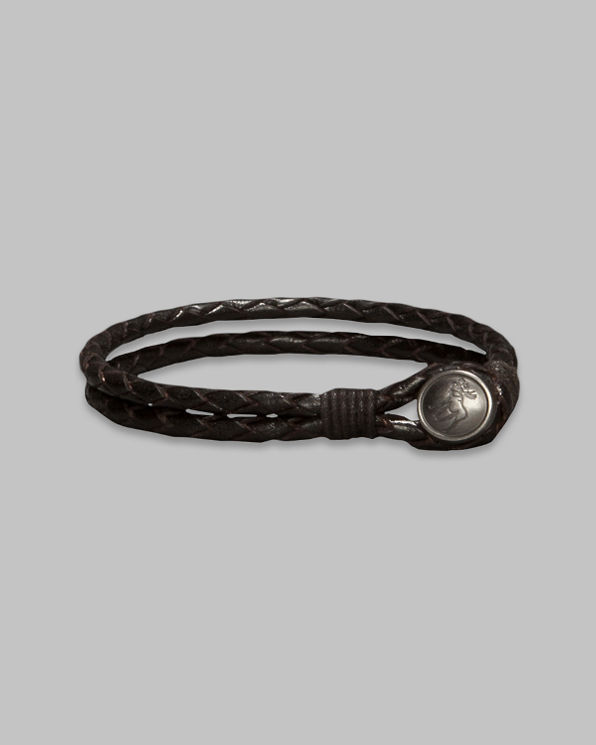 ANF Vintage Leather Bracelet