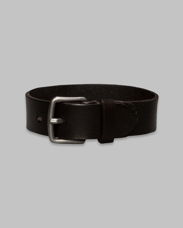Rugged Leather Logo Bracelet Rugged Leather Logo Bracelet