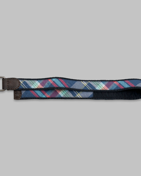Mens Colorful Plaid Belt