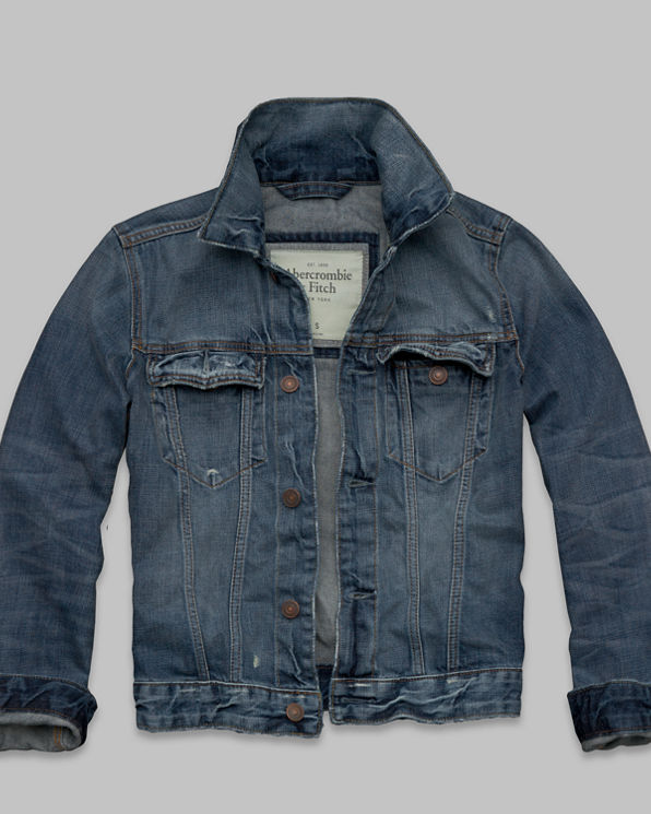 ANF Northside Trail Jean Jacket