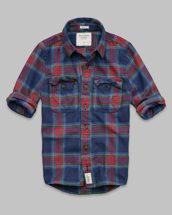 Mens Rollins Pond Flannel Shirt