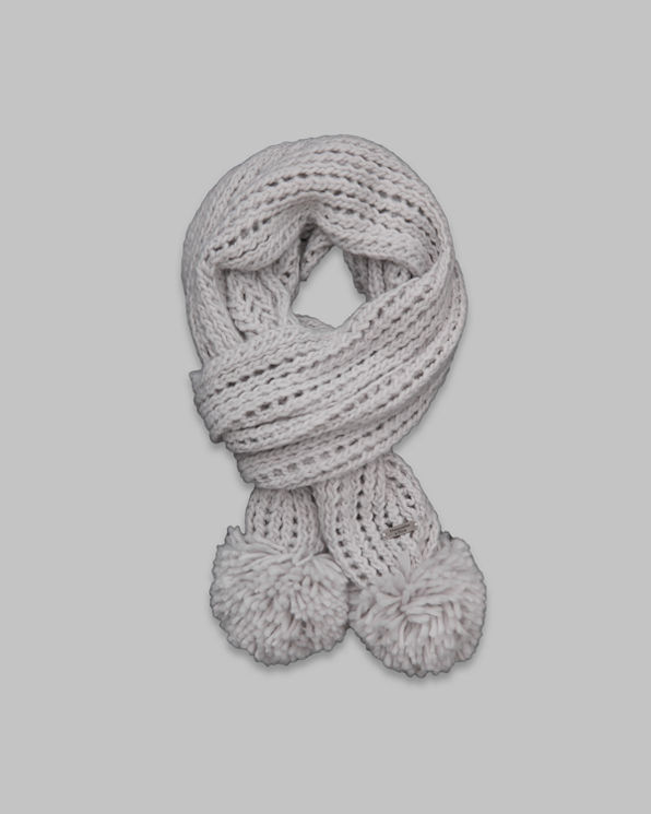 Womens Pretty Knit Scarf