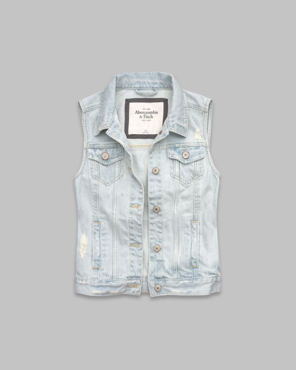 ANF Bridget Denim Vest