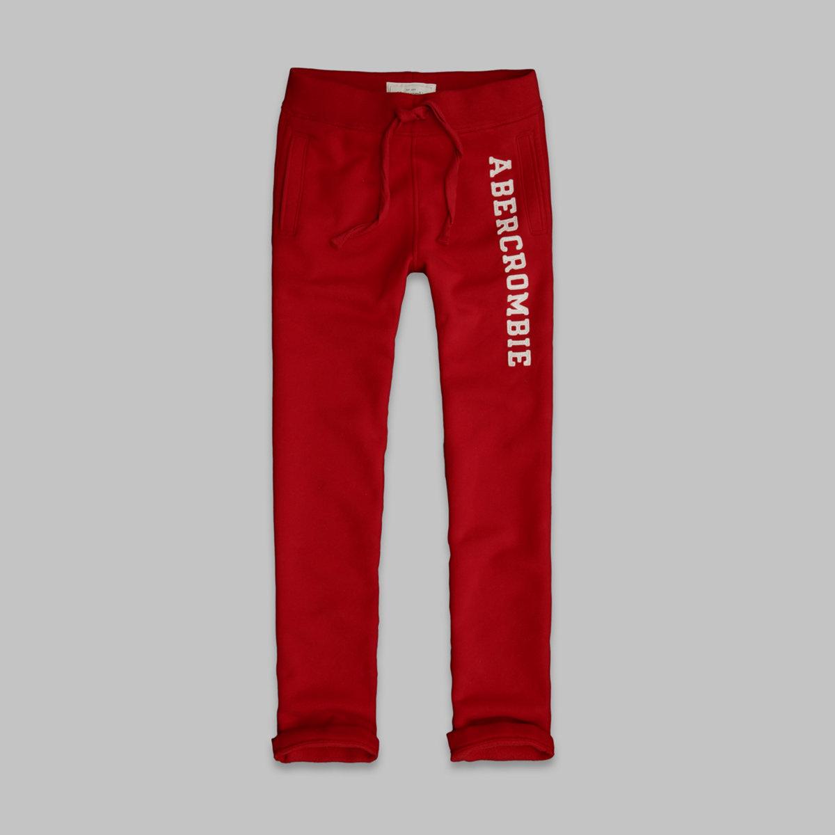 A&F Classic Straight Sweatpants