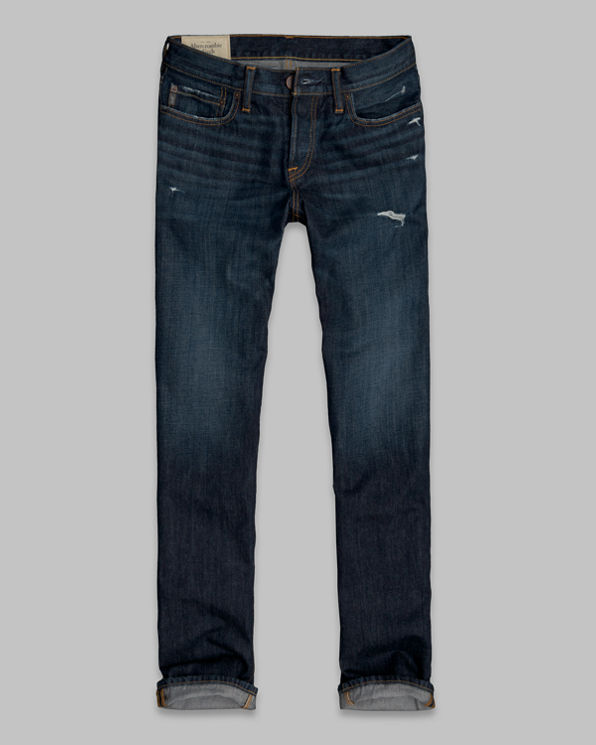 A&F Classic Straight Button Fly Jeans A&F Classic Straight Button Fly Jeans