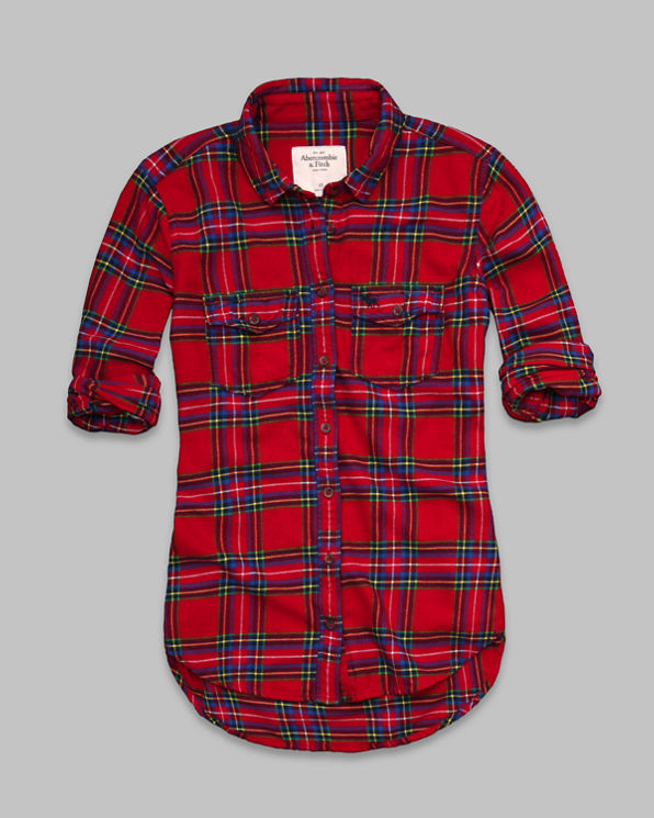 Elicia Flannel Shirt Elicia Flannel Shirt