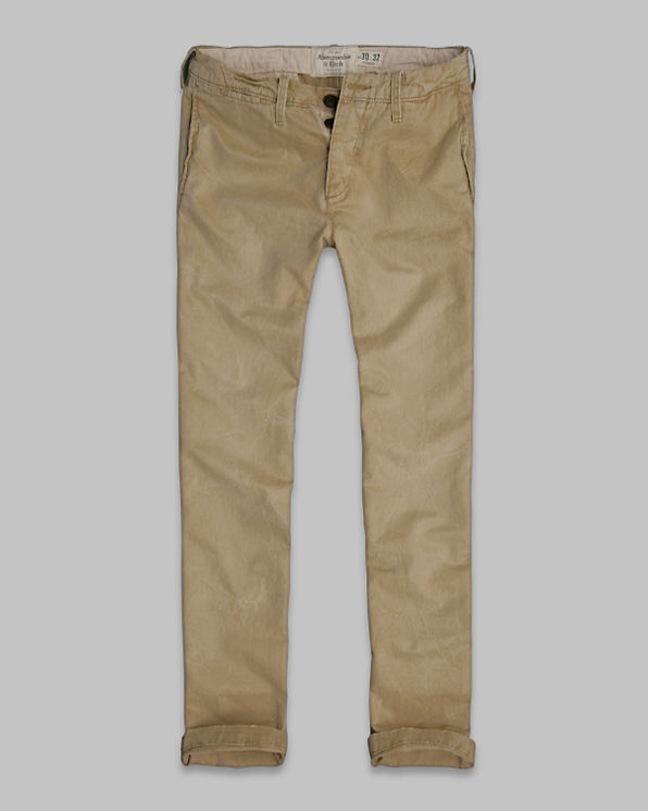 ANF A&F Skinny Chinos