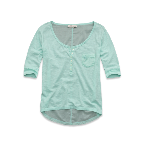 Long Sleeve Cami Henley