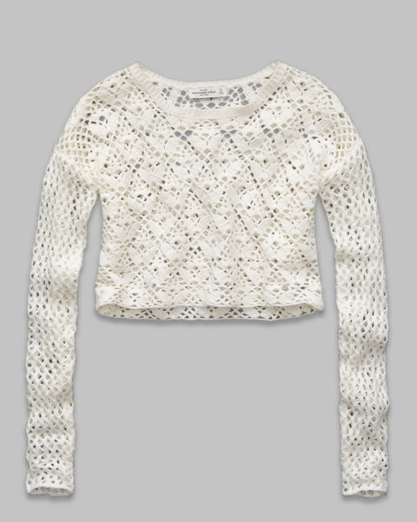 ANF Christa Cropped Sweater