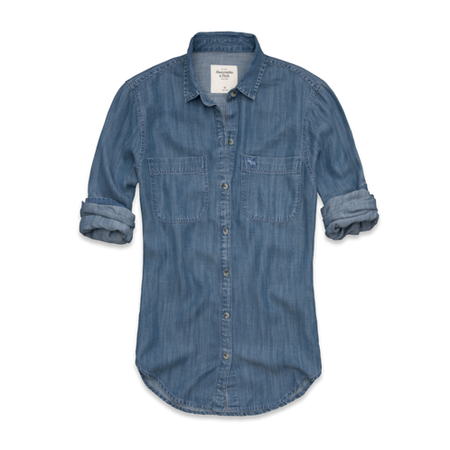 Womens Morgan Denim Shirt