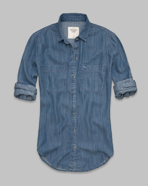 Morgan Denim Shirt Morgan Denim Shirt